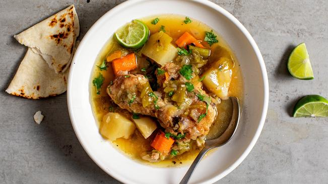 Recipe: Green Chilli Chicken Stew photo