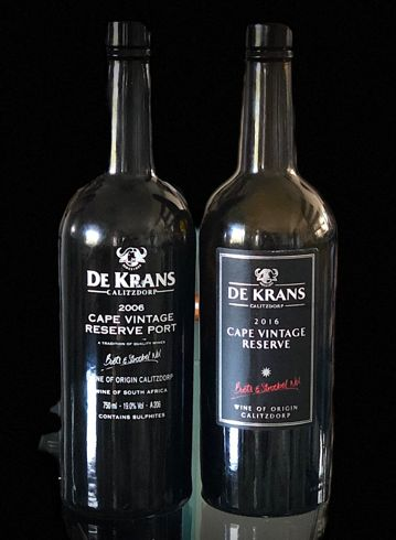 Tim James: What 10 Years Does To De Krans Cape Vintage Reserve photo