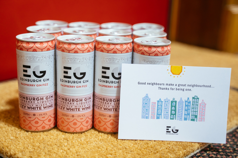 Edinburgh Gin Launch New Raspberry Gin Fizz Cans In Time For Summer photo