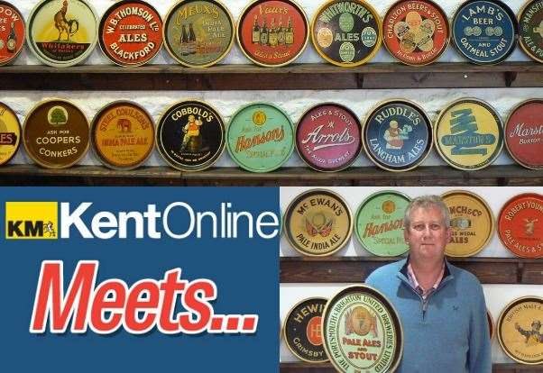 The Man With Britain's Biggest Beer Tray Collection photo