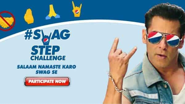 Salman Khan Gives Namaste A Twist In Pepsi Campaign, Promotes Social Distancing photo