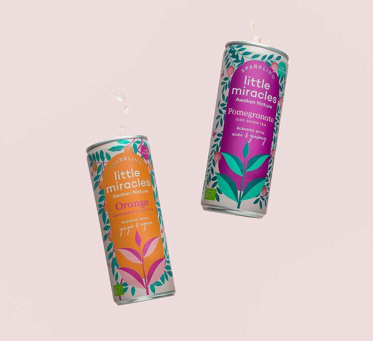 Little Miracles Brings New Low Sugar Sparkling Ice Teas To Market photo