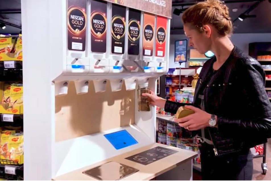 Nestle Pilots Refillable Coffee, Pet Food Dispensers photo