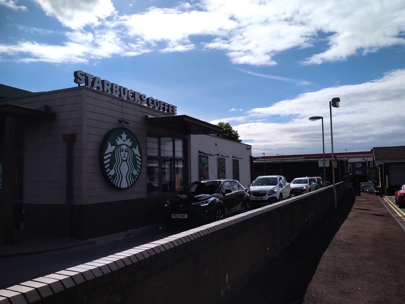Queues As Preston Coffee-lovers Rush To Starbucks For A Quick Caffeine Fix photo