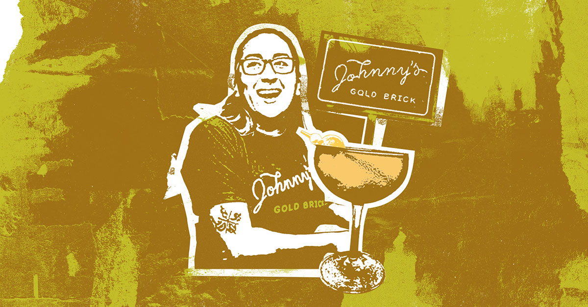Tip Your Bartender: Johnny's Gold Brick photo