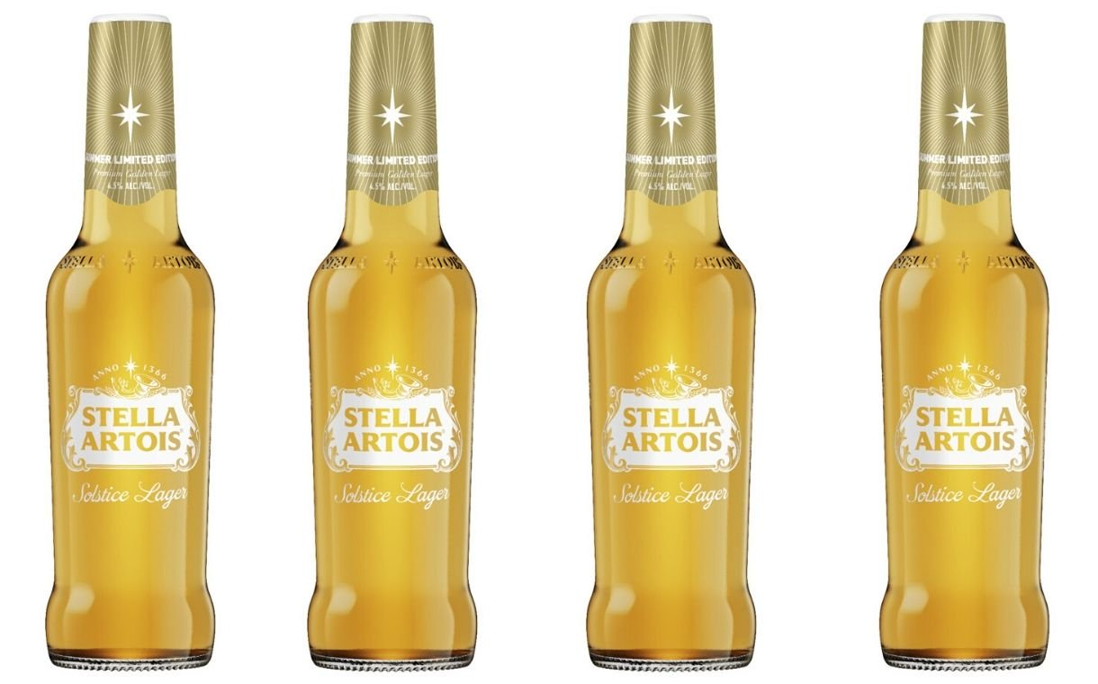 Stella Artois Unveils New Solstice Lager For Summer photo