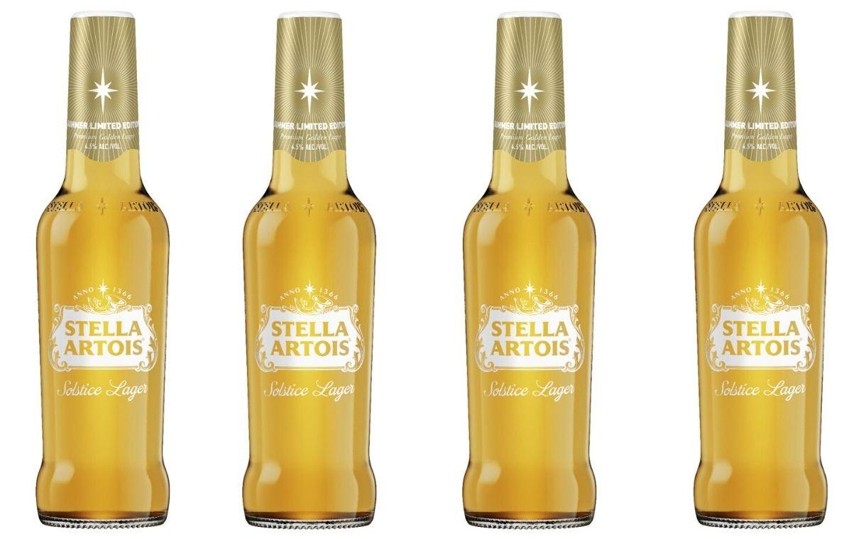 Stella Artois Unveils New Solstice Lager For Summer photo