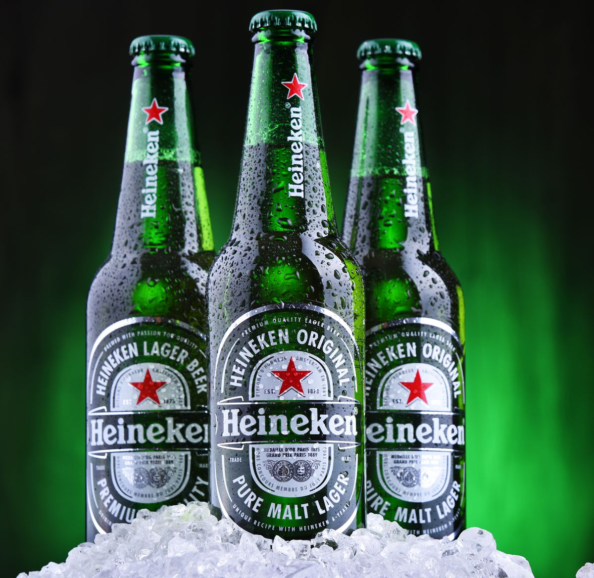 Heineken Sues Shipping Company Over 15,000 Frozen Cases Of Beer photo