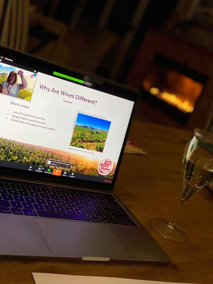 TOPS at SPAR Wine Show Launches Online Learning Experience With Top Wine Educator and Expert photo