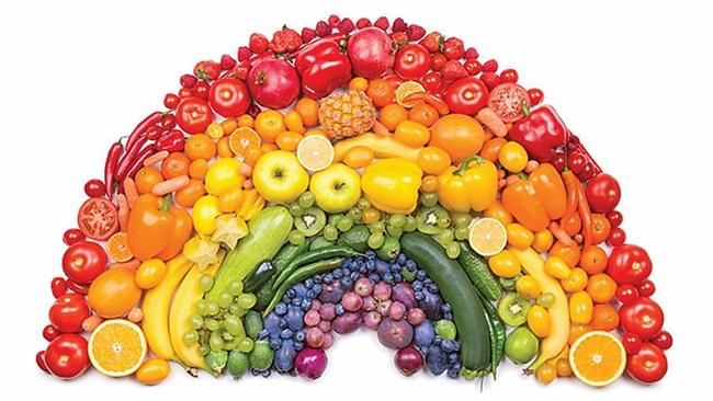 'eat A Rainbow' For A Healthy Immune System photo