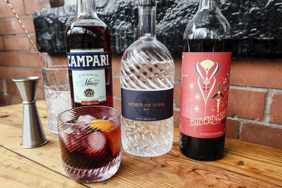 Sorry Stanley Tucci, That's Not How You Make A Negroni photo