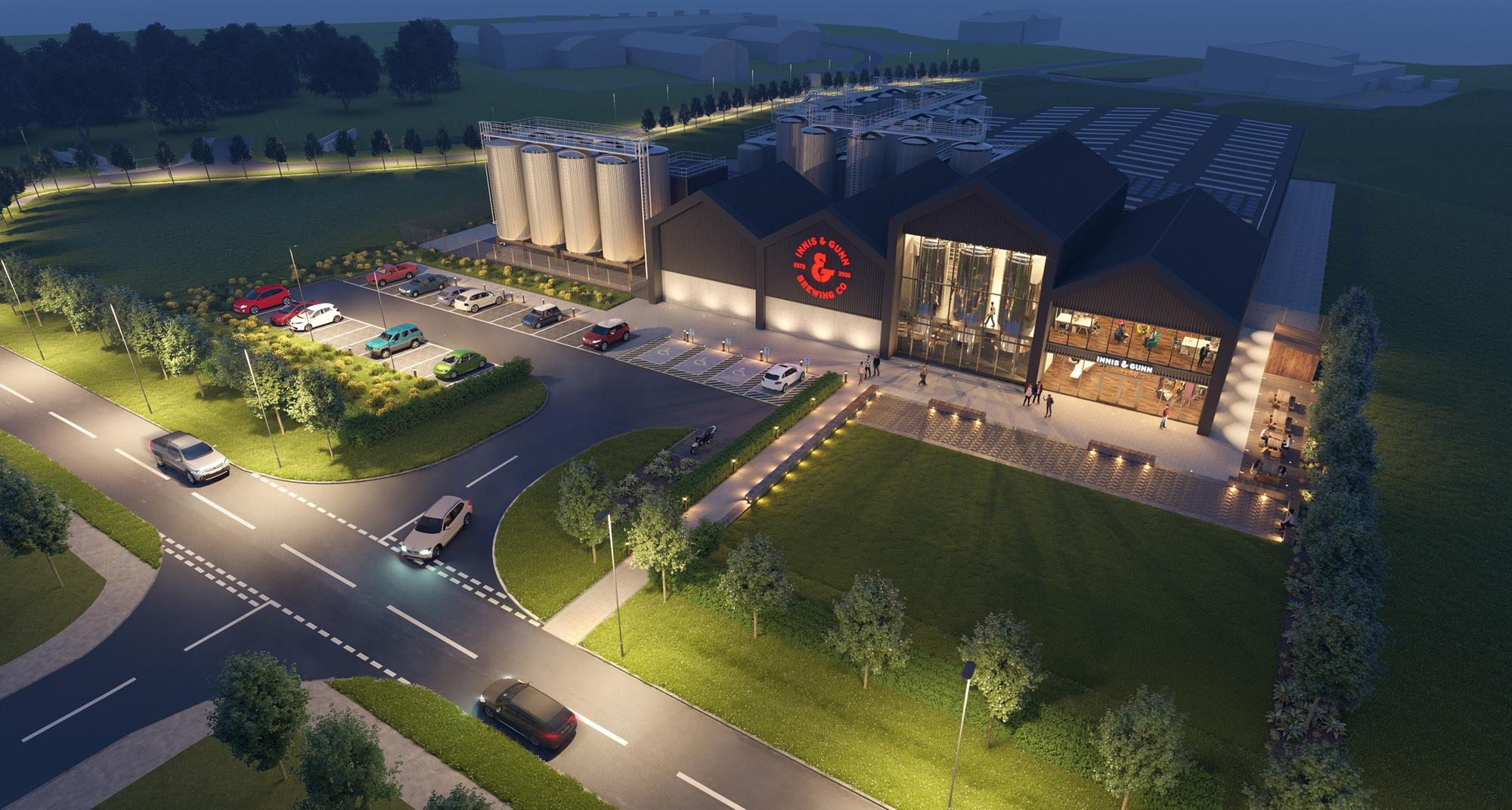 Innis & Gunn Submits Planning Application For Major First Brewery In Edinburgh In 150 Years photo