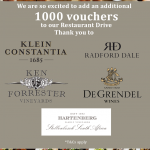 More Wineries Join The Restaurant Support Drive That Offers Meal Vouchers and Free Wine photo