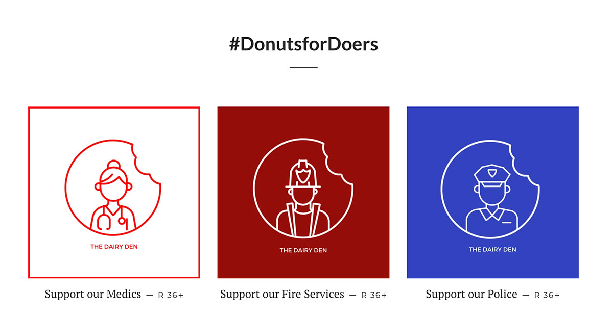 The Dairy Den's New Initiative #donutsfordoers photo