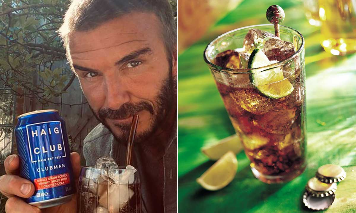 David Beckham's Favourite Cocktail Revealed – And It Comes In A Can photo