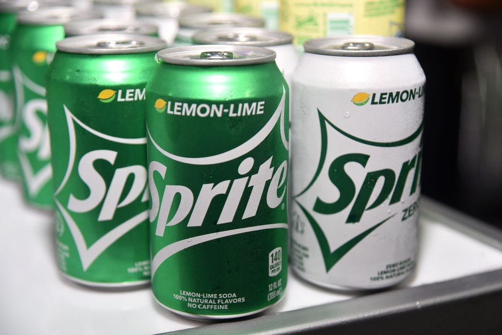 Look: Sprite Lemonade Returns photo