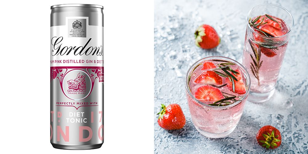Gordon's Launches Pink Gin And Slimline Tonic Cans For The First Time photo