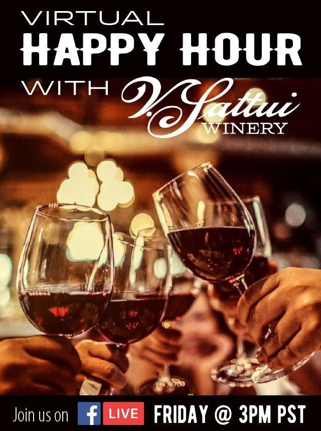 V. Sattui Winery Happy Hour photo