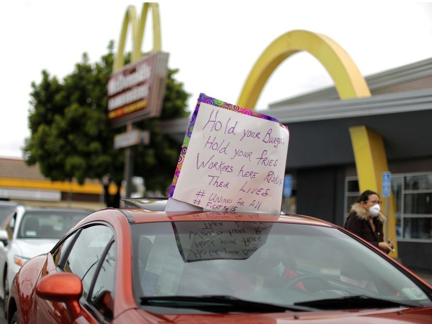 Mcdonald's Hit With Class Action From U.s. Workers Over Covid-19 Safety photo