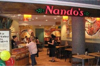 Nando's Launches Nando's Kerbside! Ordering Add For Level 3 photo