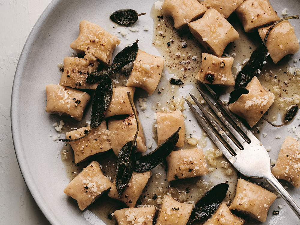 Cook This: Potato Gnocchi With Brown Butter Sauce From Flour Lab photo