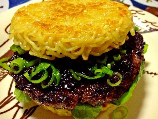 ramen bun The Most Exotic and Rare Hamburgers On Planet Earth
