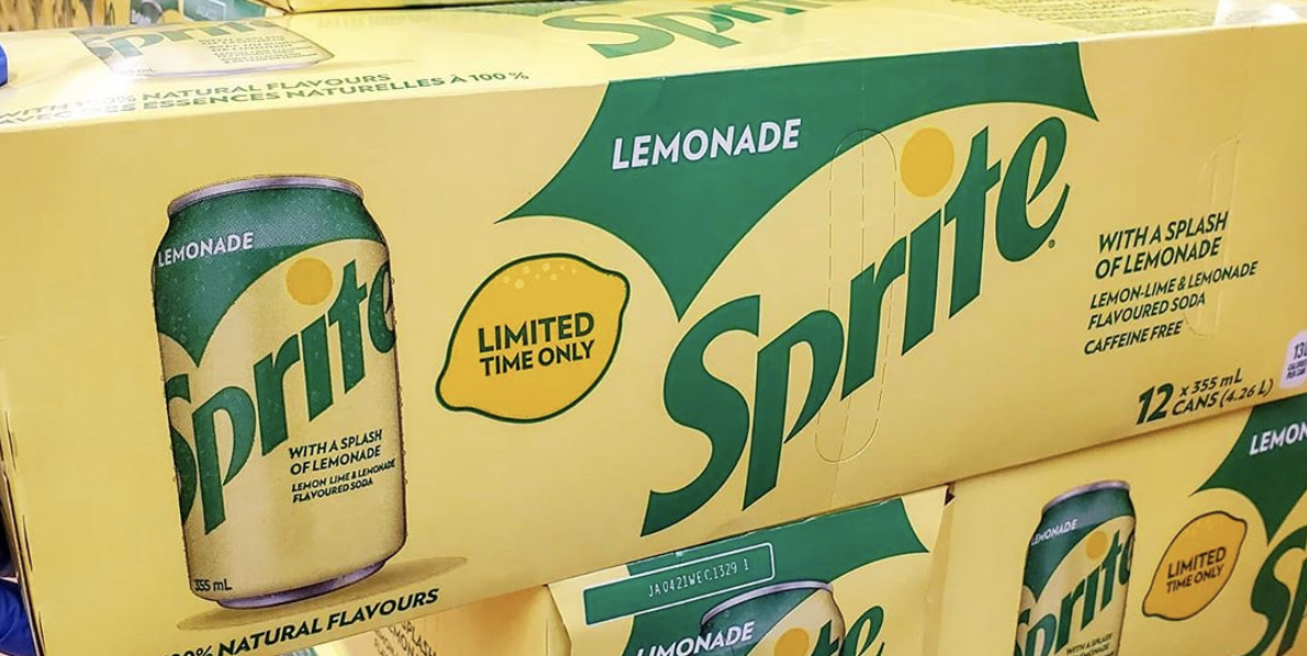 Sprite Lemonade Is Back For A Limited Time To Brighten Up Your Days photo