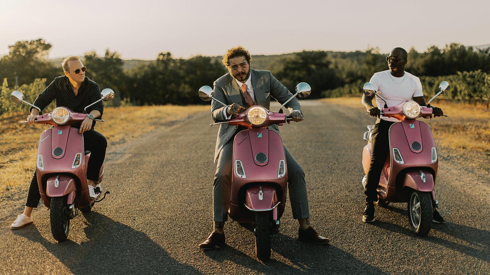 Post Malone Announces Next Summer Hit: His New Rosé photo