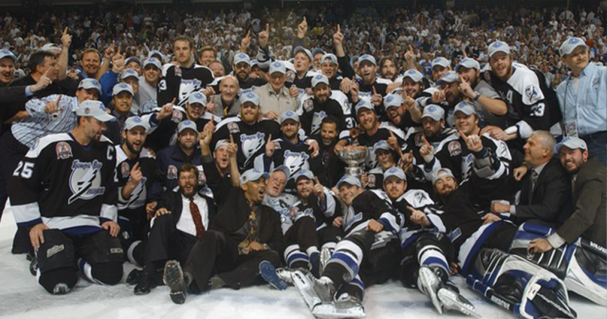 '04 Tampa Bay Lightning Stanley Cup Champs Look Back At Rituals, Superstitions Before The Big Game photo