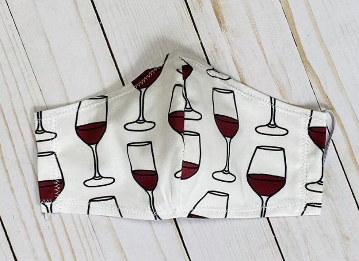 wine reusable face mask 700x510 9 Face Masks For Wine Lovers And Where To Find Them