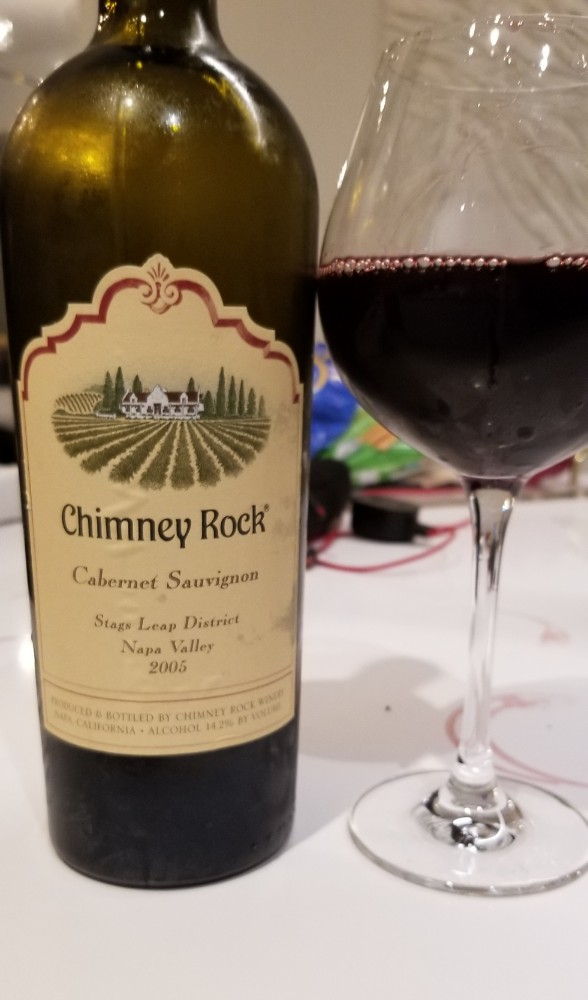 Chimney Rock Winery Stags Leap District Cabernet Sauvignon 2005 Napa Valley, California photo
