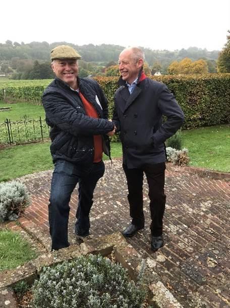 Mentzendorff Commercially Launches Hambledon Vineyard photo