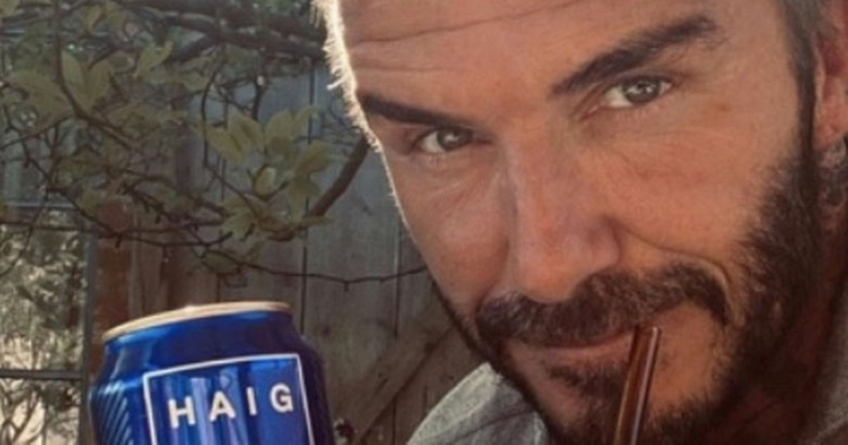 David Beckham Makes Fans Thirsty With Rugged Promo Photo For Product Launch photo