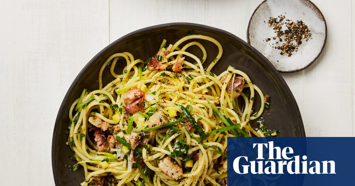 Lemon, Aubergine And Confit Salmon: Yotam Ottolenghi's Pasta Recipes photo