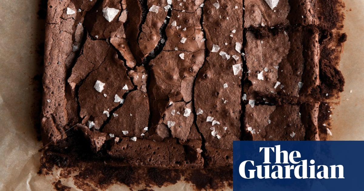 Rich And Tangy: Gluten-free Sourdough Chocolate Brownies photo
