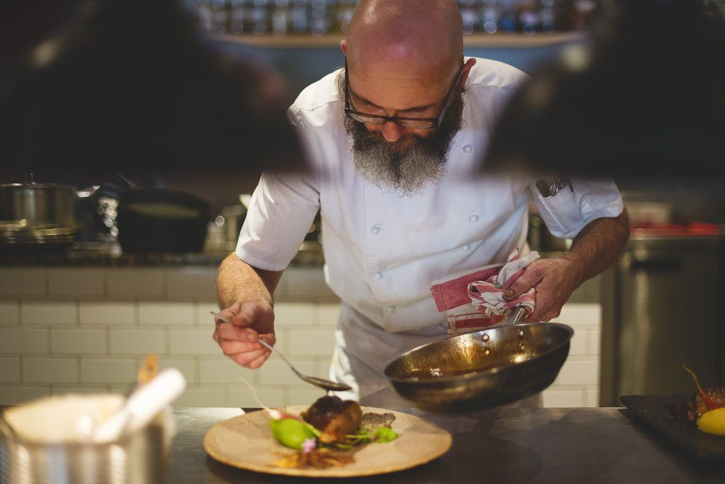 From Culinary Rockstar To Grocer: The Unexpected Trajectory Of A Chef During Covid-19 photo