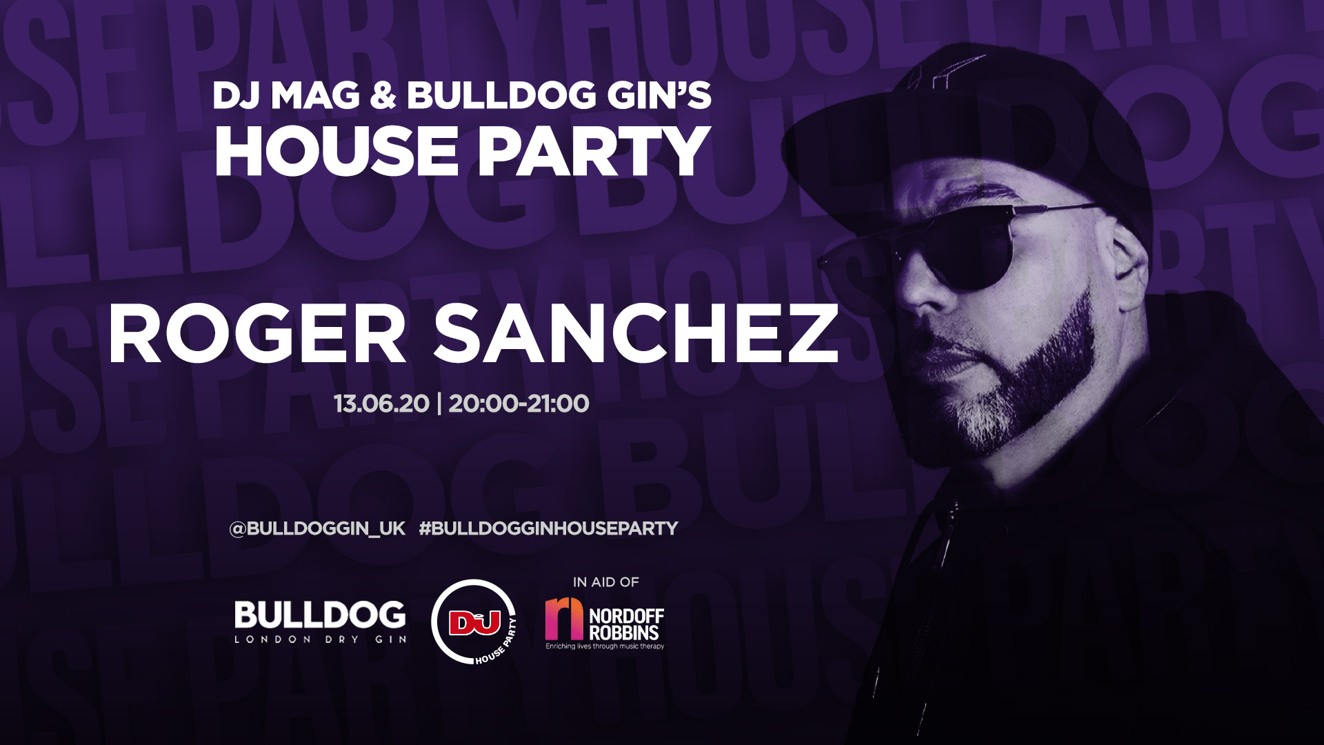 Dj Mag & Bulldog Gin Announce House Party Live Stream With Roger Sanchez & More photo