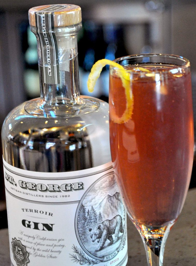 Drink Of The Week: Kalani's Raspberry French 75 photo