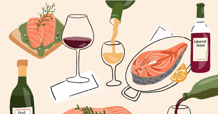 The Best Wines To Drink With Salmon photo