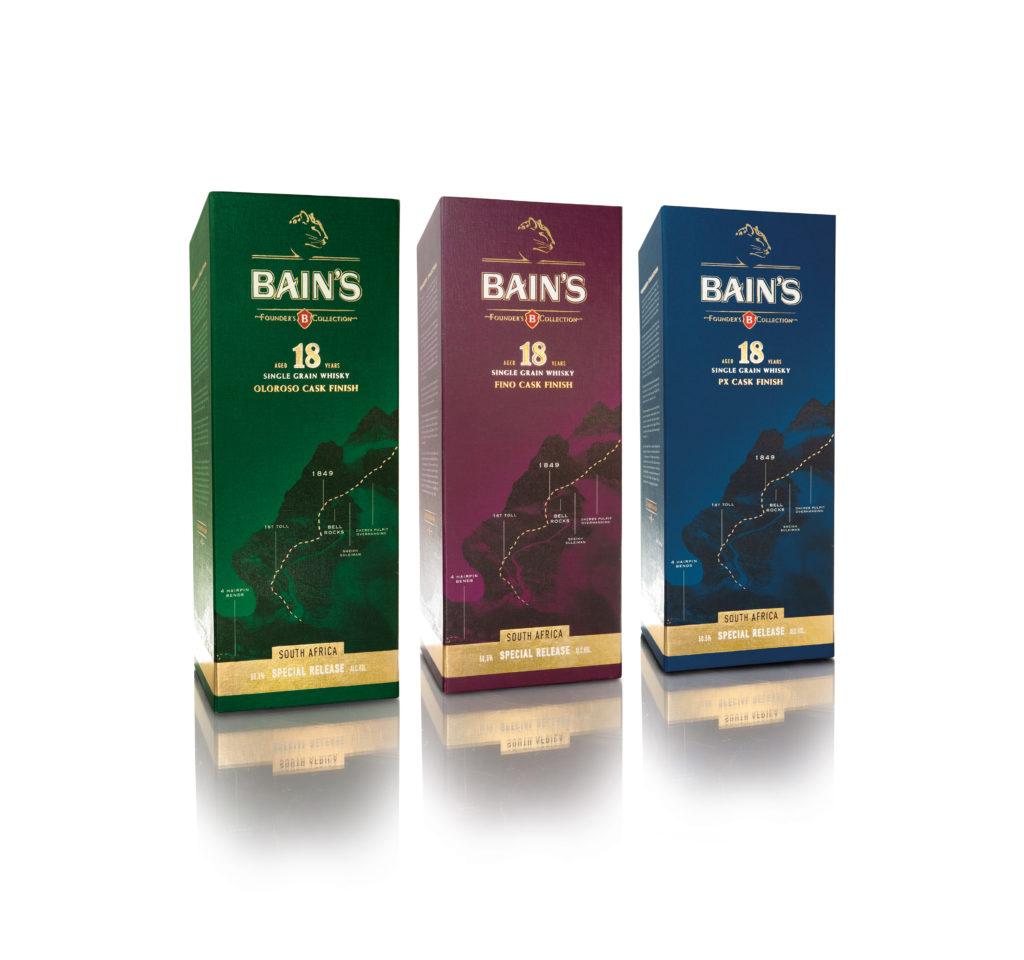 Bain's Cape Mountain Whisky Travel Retail Exclusives Win Prestigious Awards photo