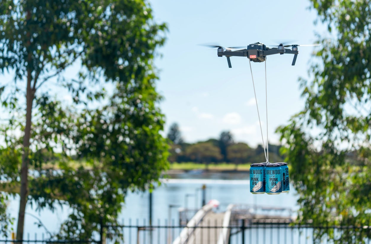 Brewdog Starts Using Drones For Beer Deliveries photo