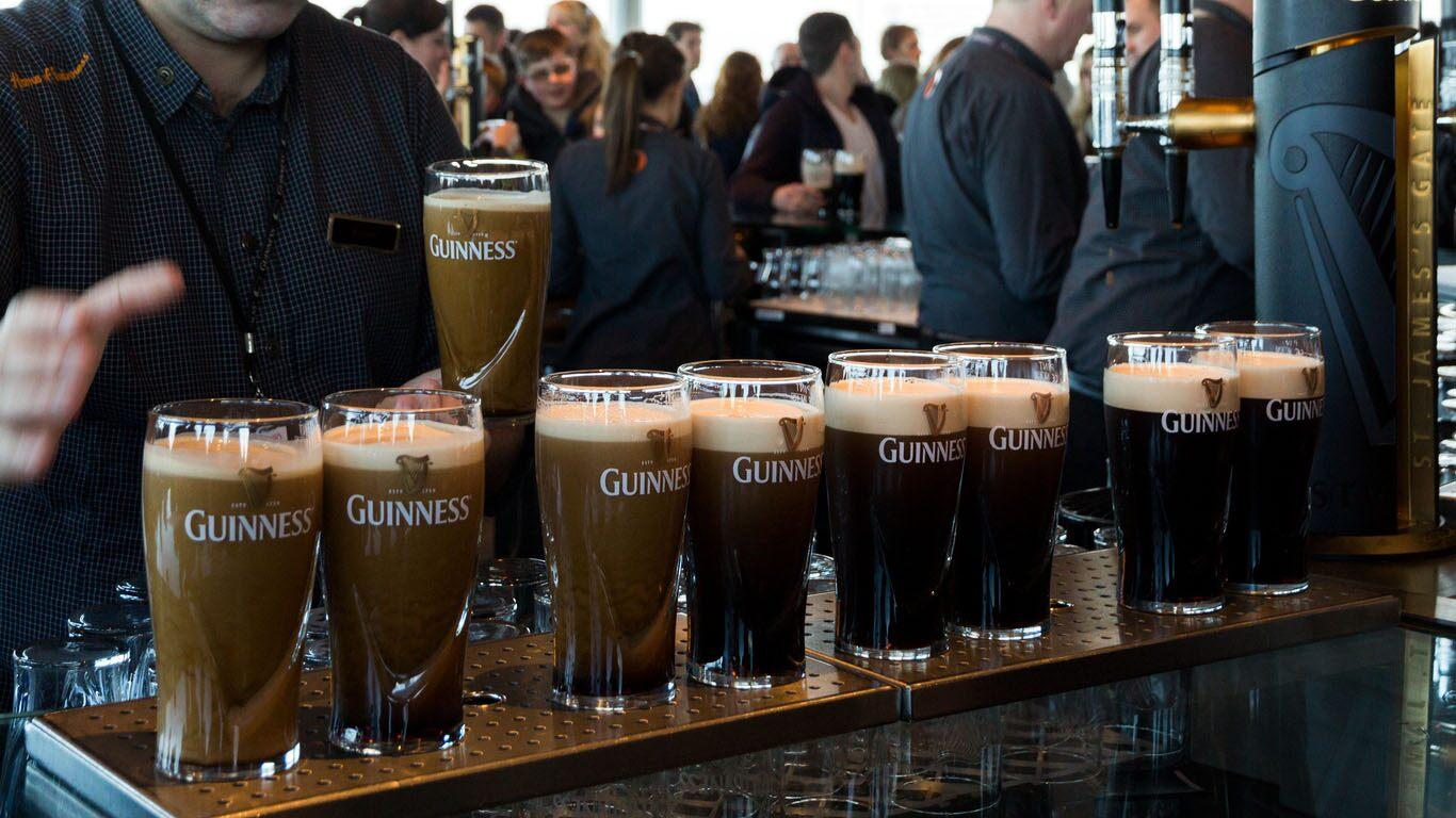 Unsold Guinness Beer Used To Fertilize Christmas Trees During The Lockdown photo