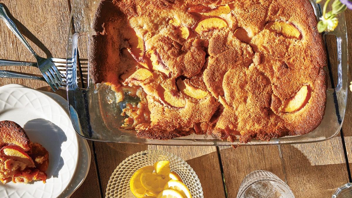 Peach Cobbler Recipe photo