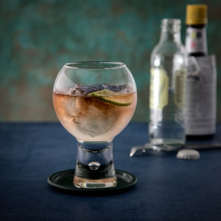 Pink Gin Tonic Celebrating World Gin Day With Angostura Aromatic Bitters
