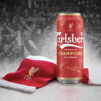 Carlsberg Launches Red Beer Can For Liverpool Fc Win photo