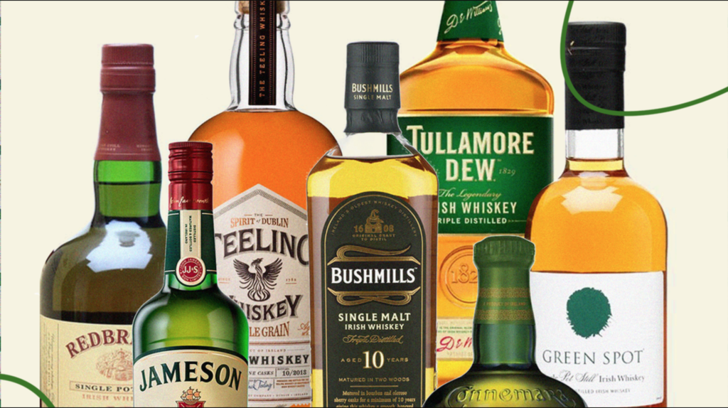 World's Most Popular Irish Whiskey Brands Revealed photo