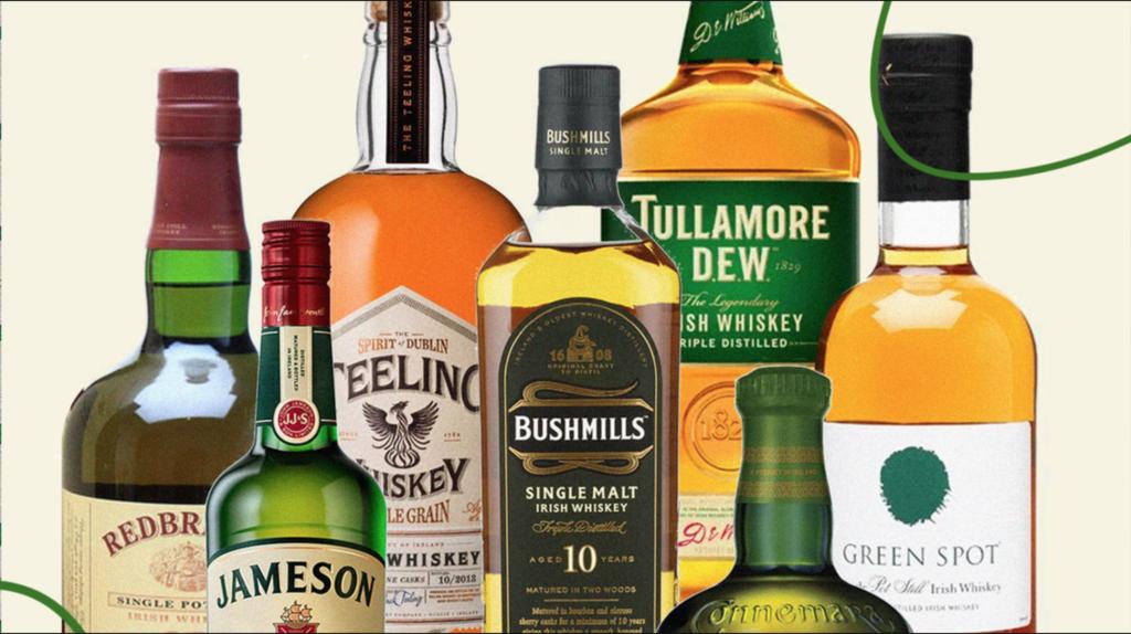 World's Most Popular Irish Whiskey Brands Revealed photo