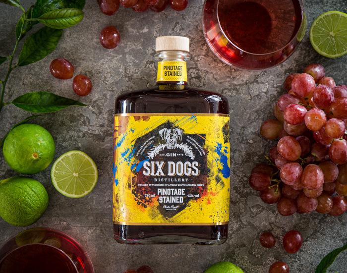 Six Dogs Distillery Launches Pinotage Gin photo