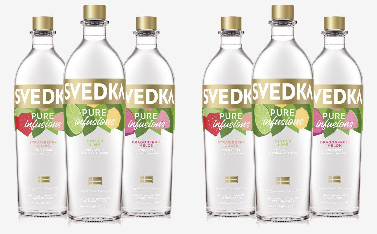 Svedka Vodka Launches New Range Of Vodka Infusions photo