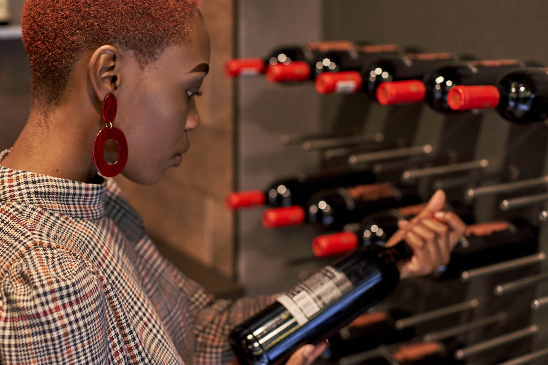 As Wine Sales Skyrocket, Retailers Shift What And How They Stock photo